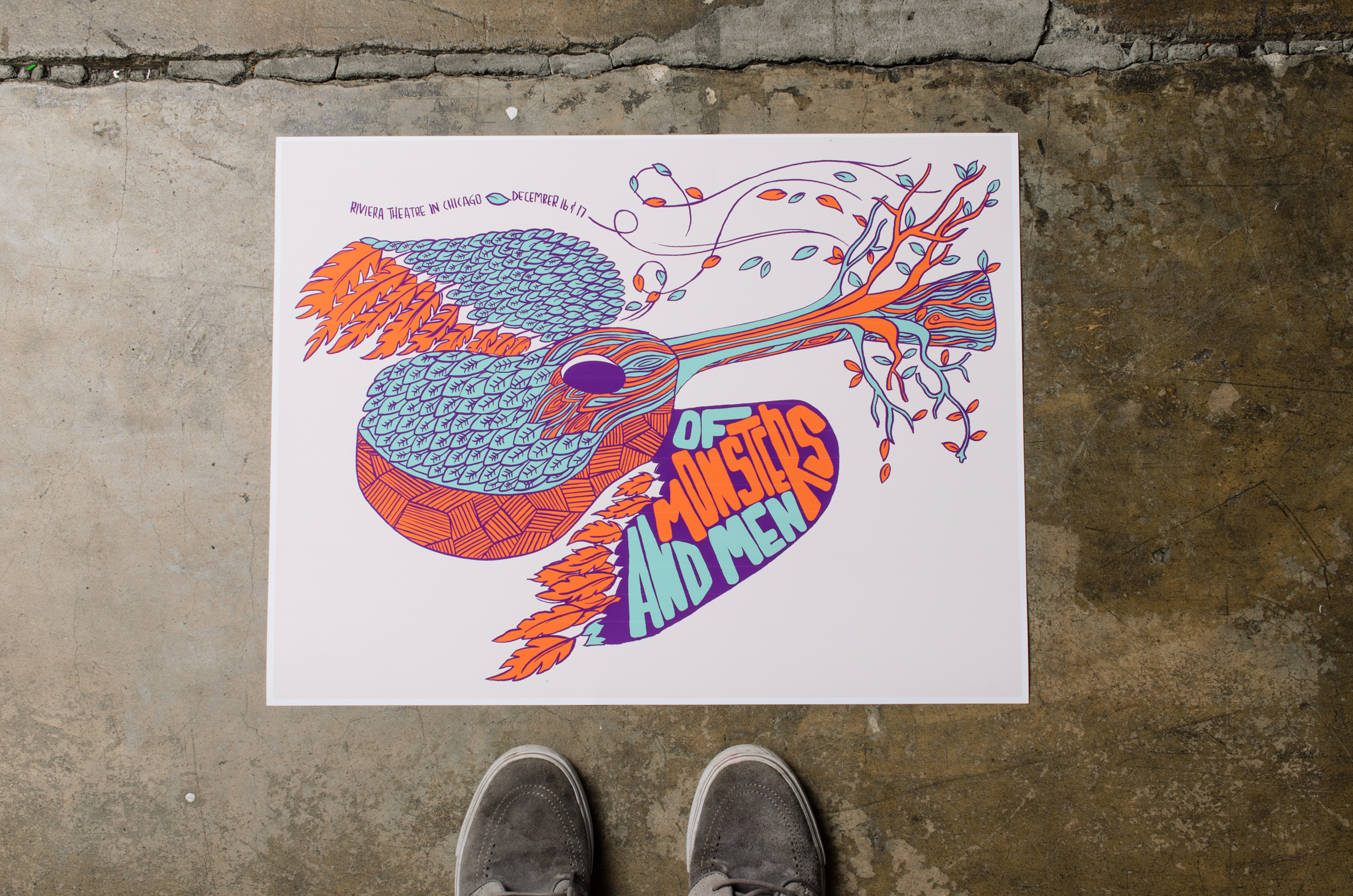 Of Monsters & Men Gig Poster