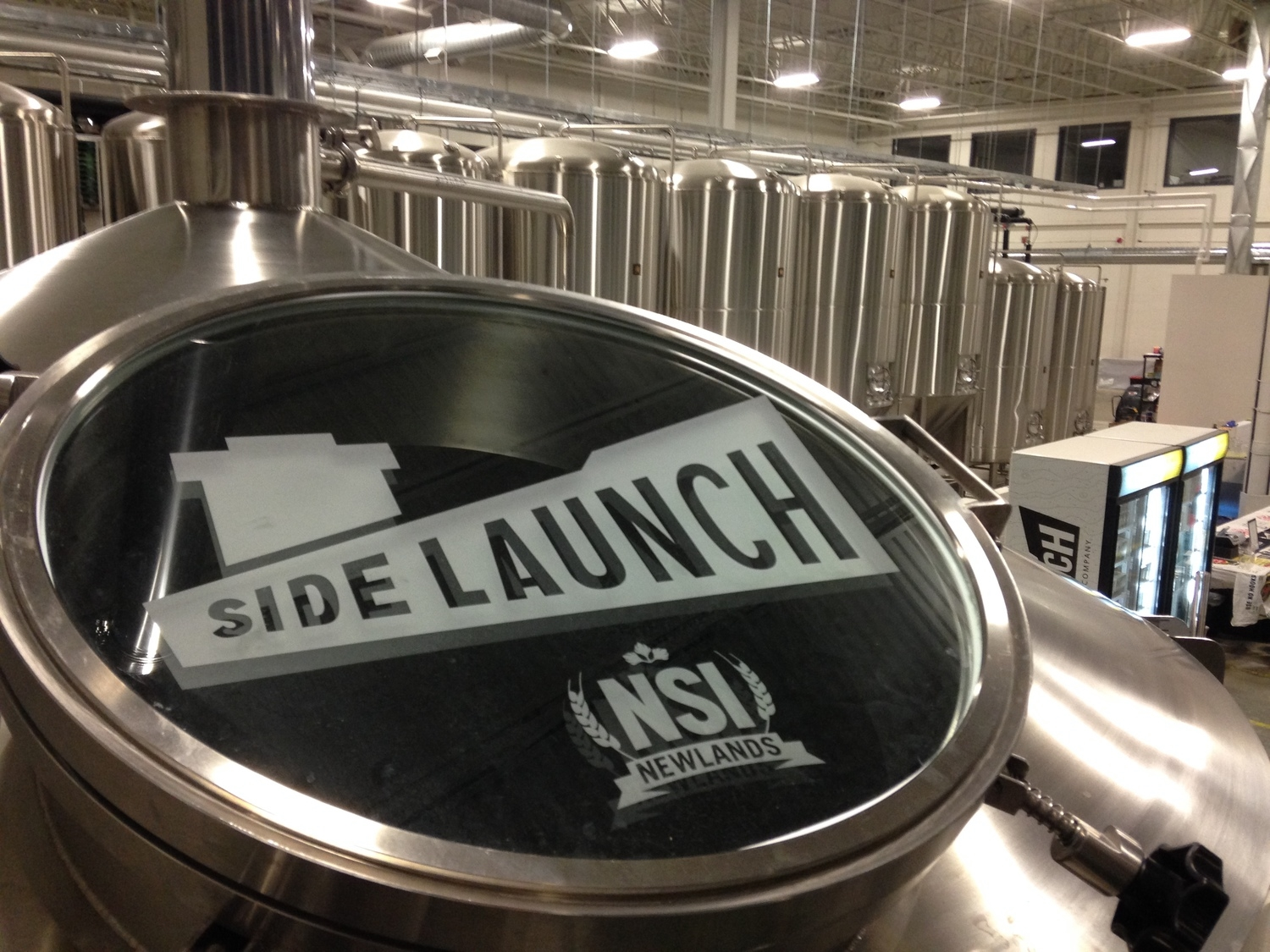 Brewery Toursat Side Launch Brewing Company