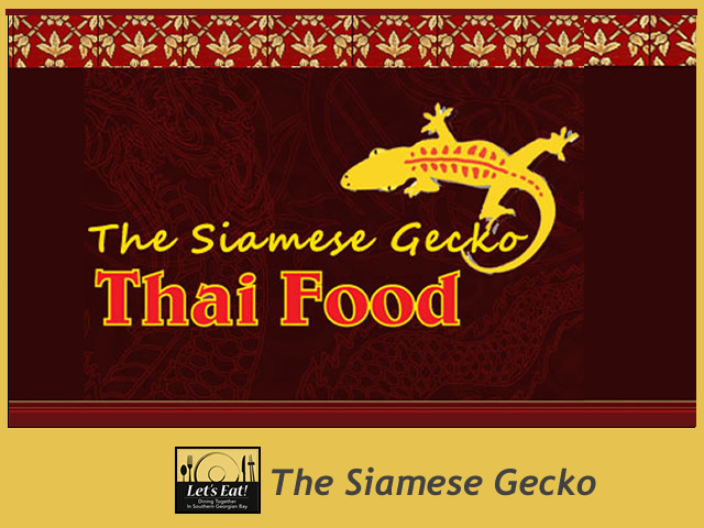 The Siamese Gecko -  14 Balsam St, Collingwood - (705) 446-2167 - ****