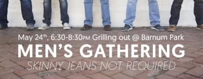 Advent Men Men's Gathering Grilling Out Barnum Park