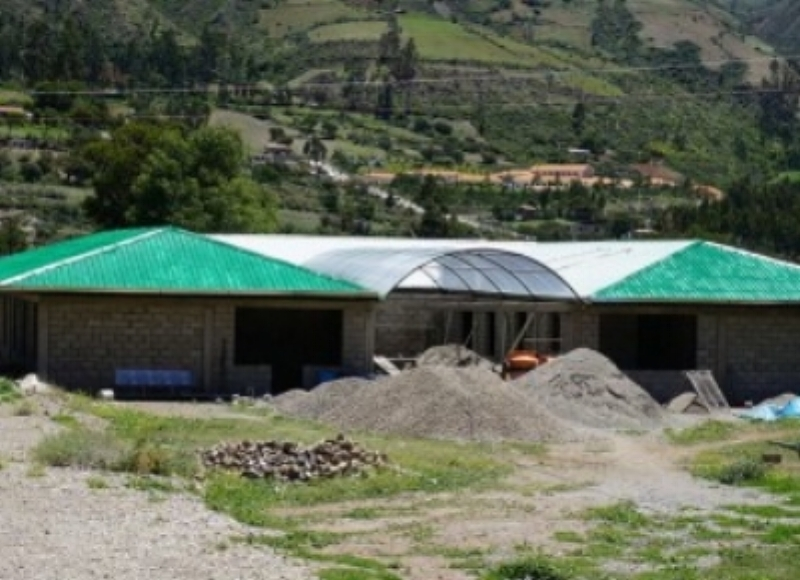 Our team visited this orphanage in Curahuasi, Peru. It was mostly complete and waiting for the first children to arrive.