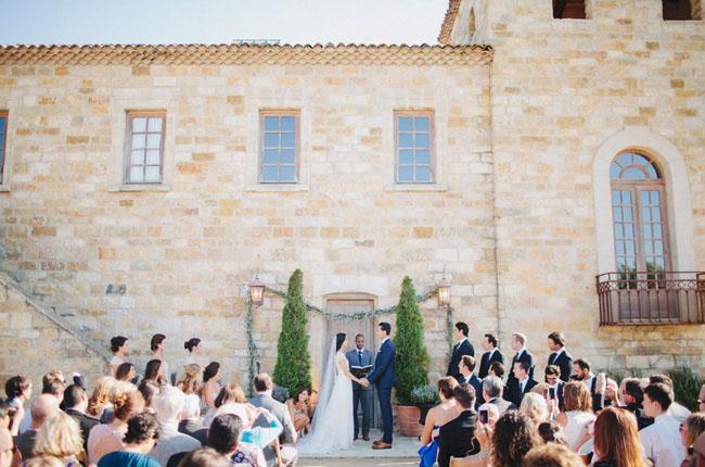 Heather & Cheyen's wedding at the Sunstone Winery.