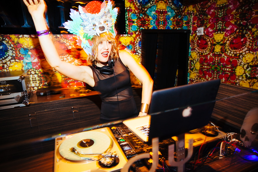 Miss DJ Lady Sinclair Hard Rock Las Vegas