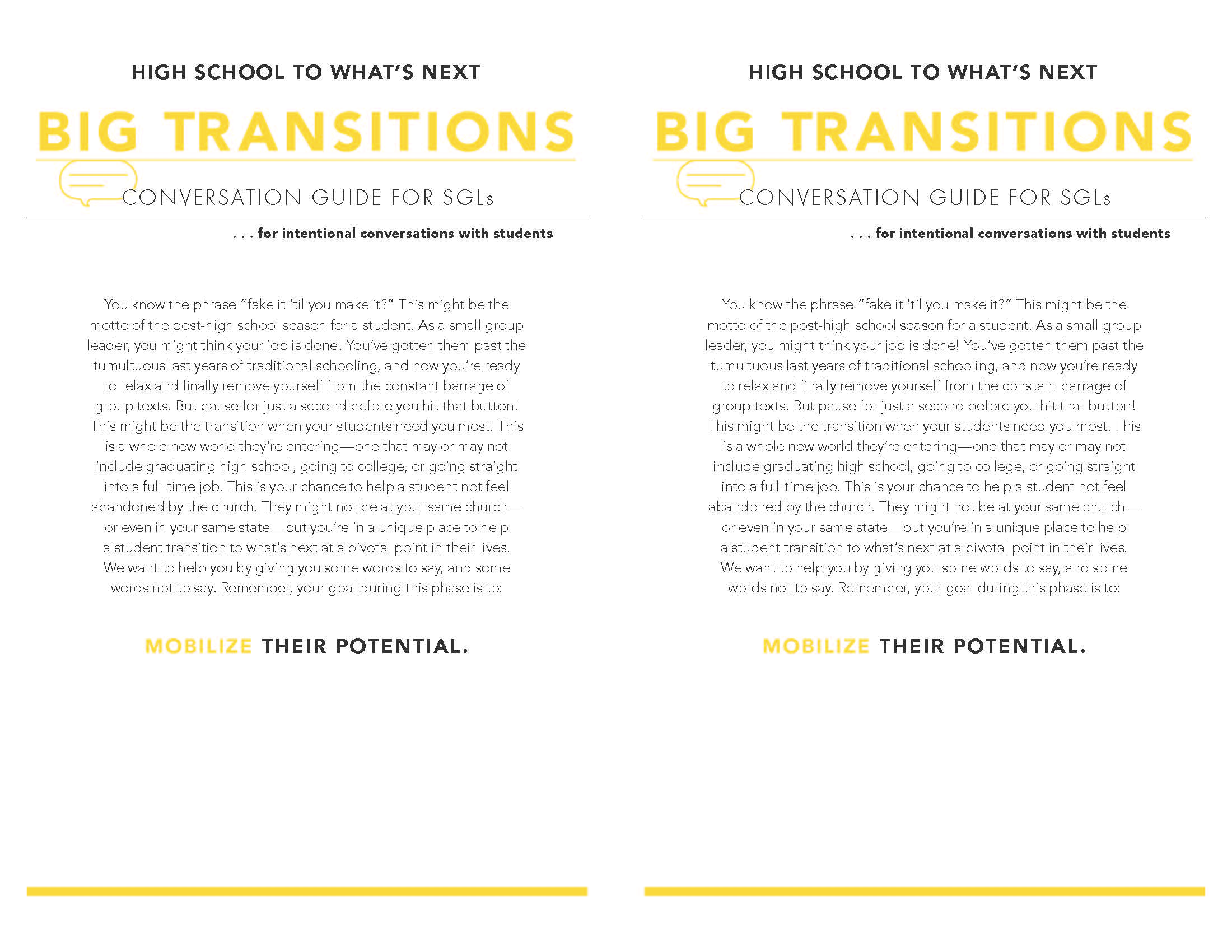 Big Transitions Page 1