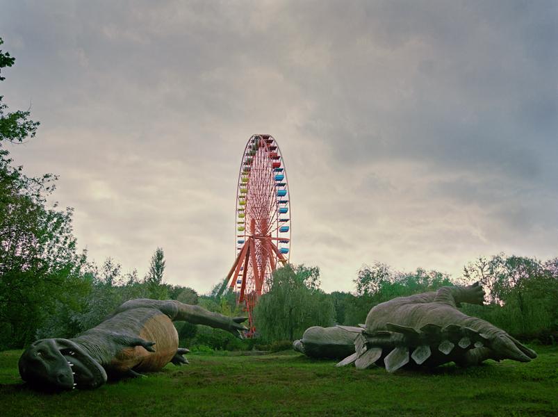 T-Rex having fun