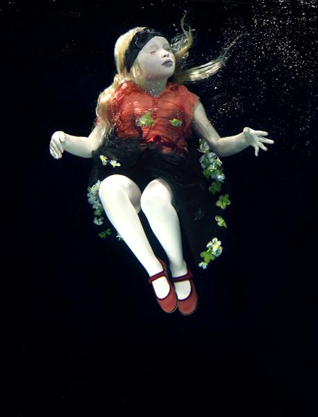Oceane and flowercrown