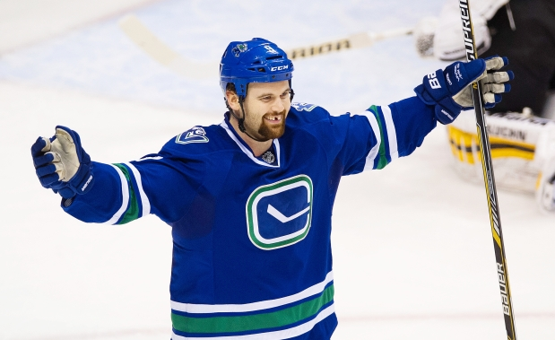 Zack Kassian, beloved former Canuck. Cut down in his prime by a trade that made us mad.