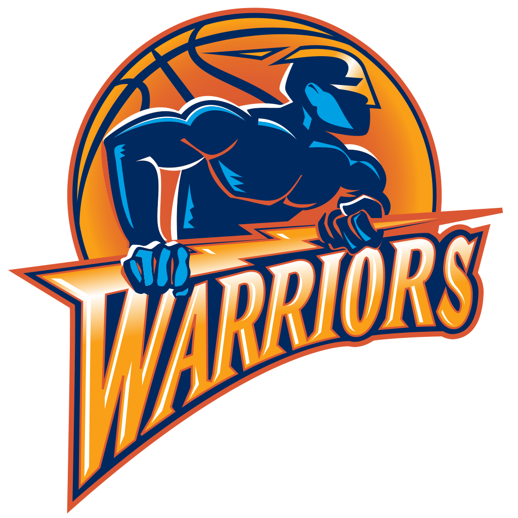 The Golden State Warriors' old crappy logo.