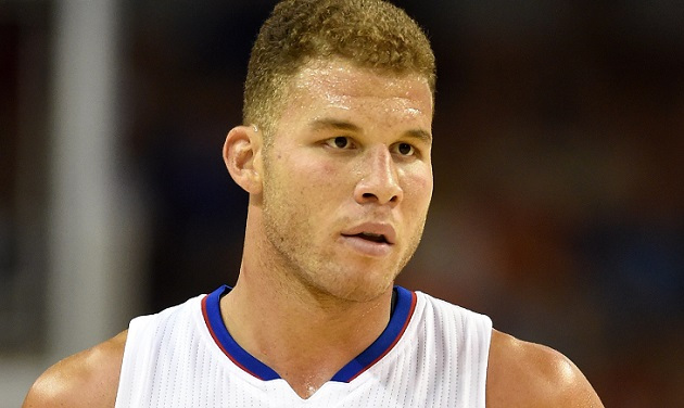 Blake Griffin looking very much in need of some pizza and water.