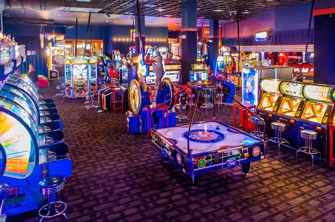 Stefan revisits Dave and Buster's