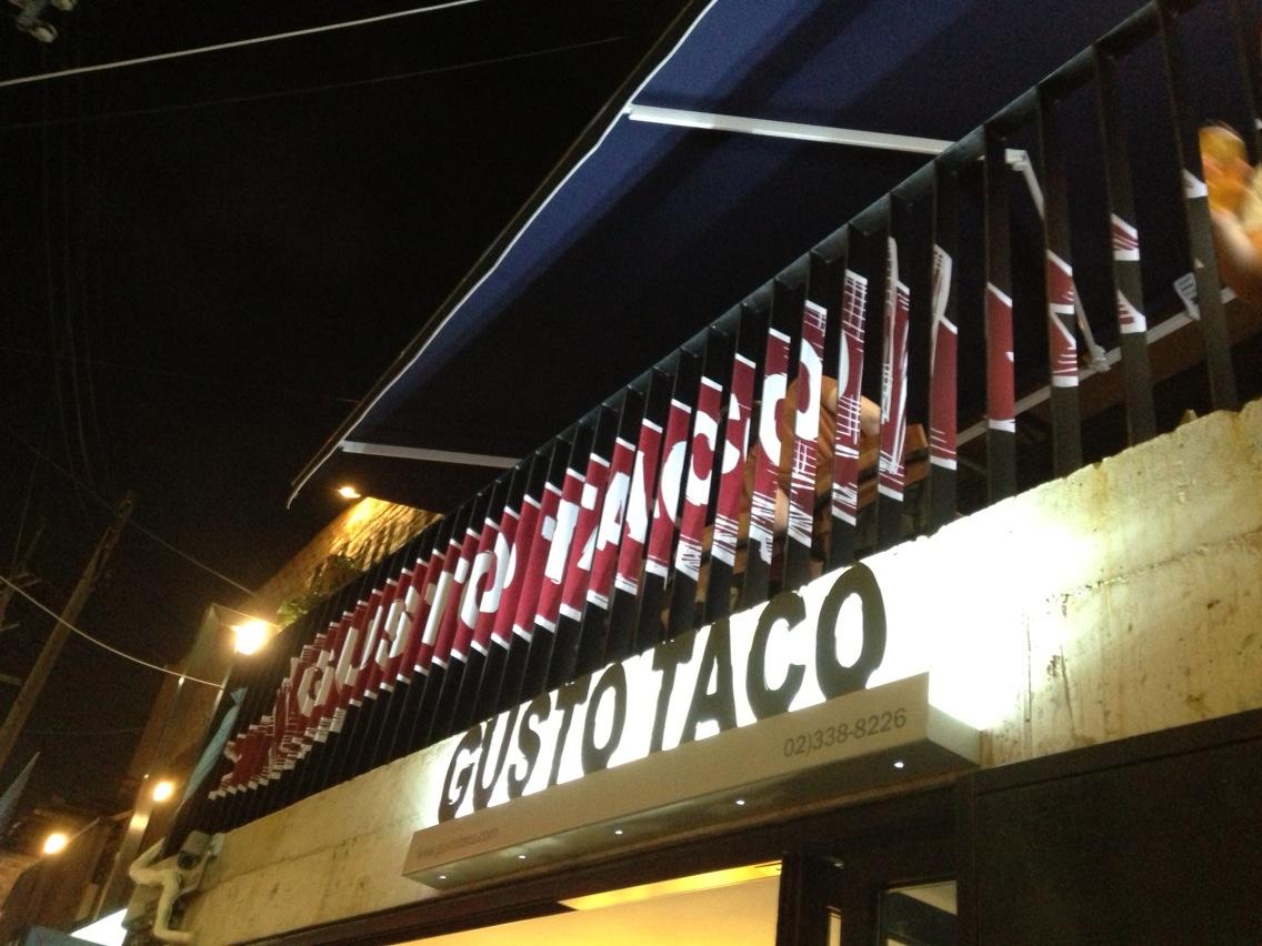 G usto Taco at Sangsu