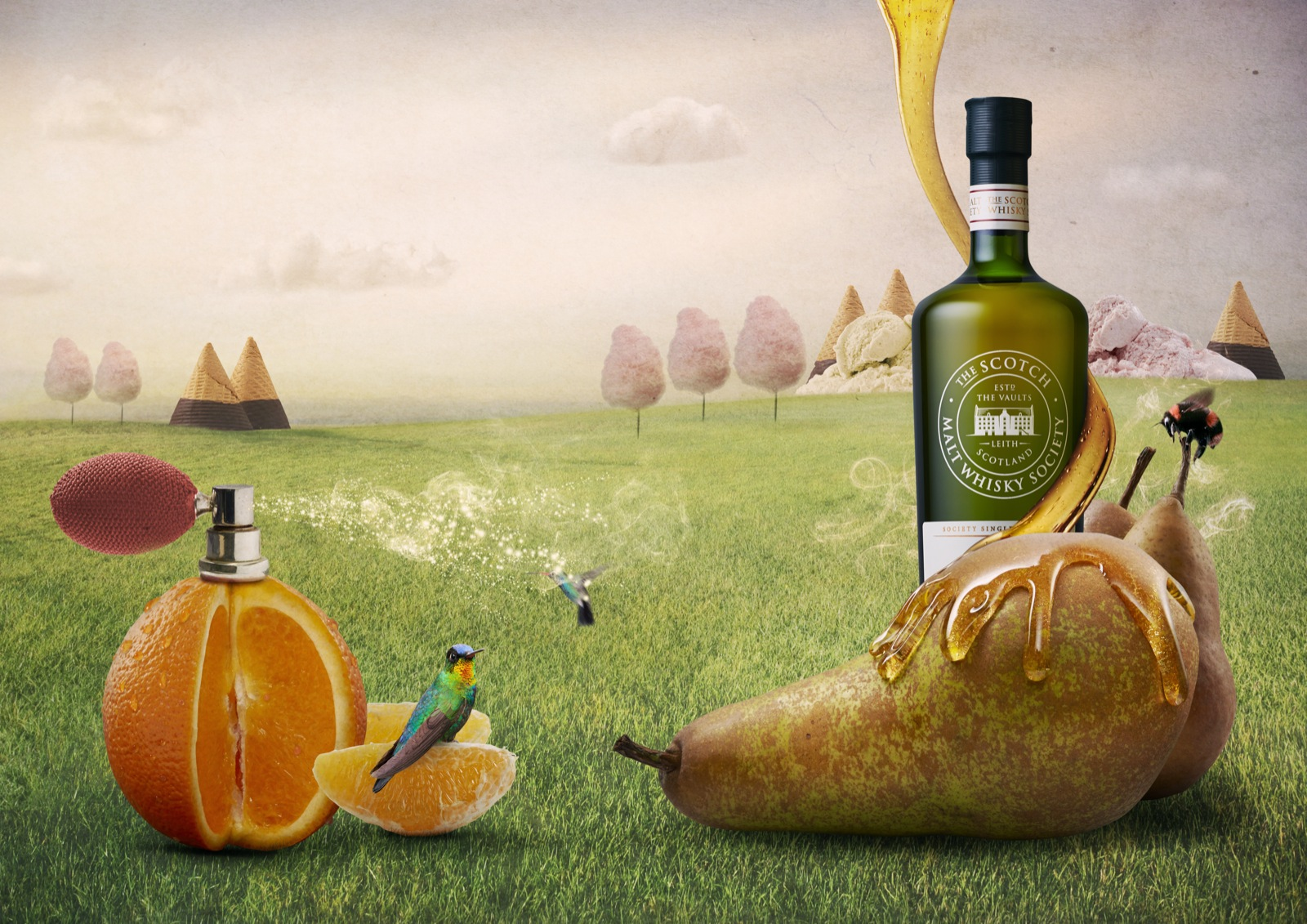 Client : Scotch Malt Whisky Society  Agency : Story