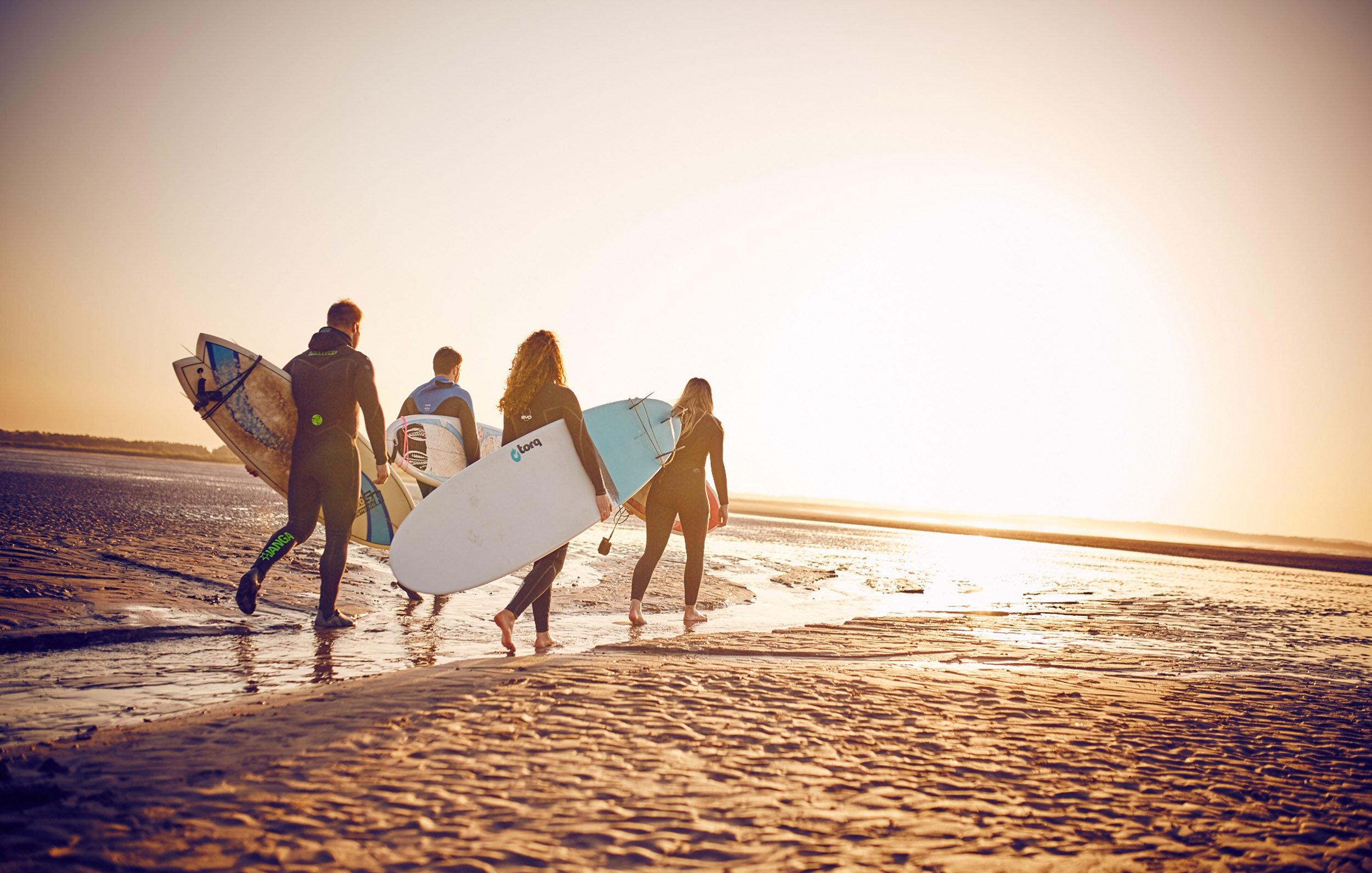 SURFING EAST COAST