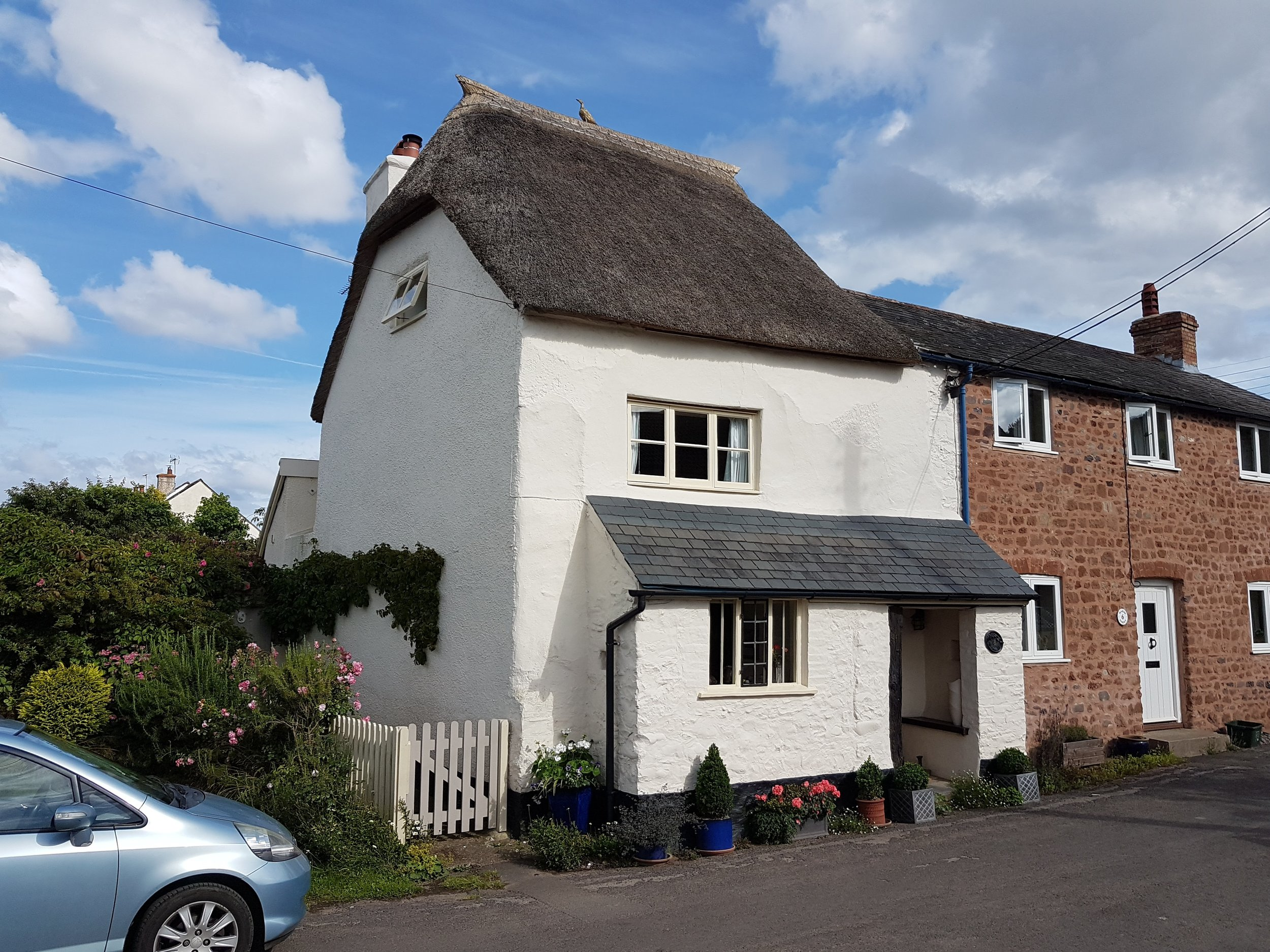 cottage dunster listed extension nick thorne somerset