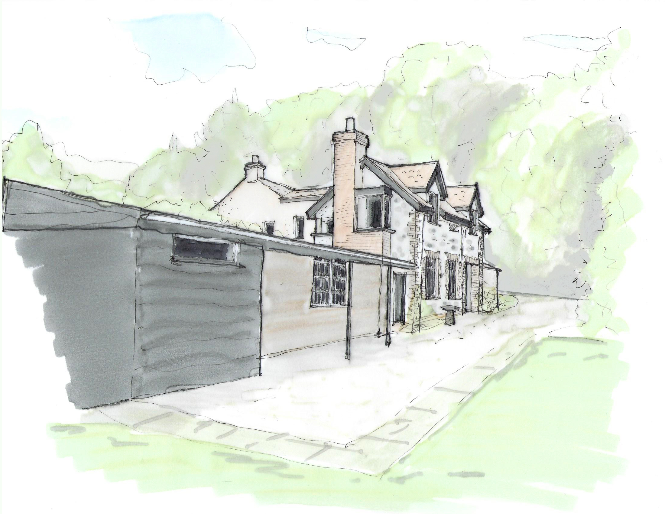 concept-sketch-home-extension-planning-approval-somerset-taunton