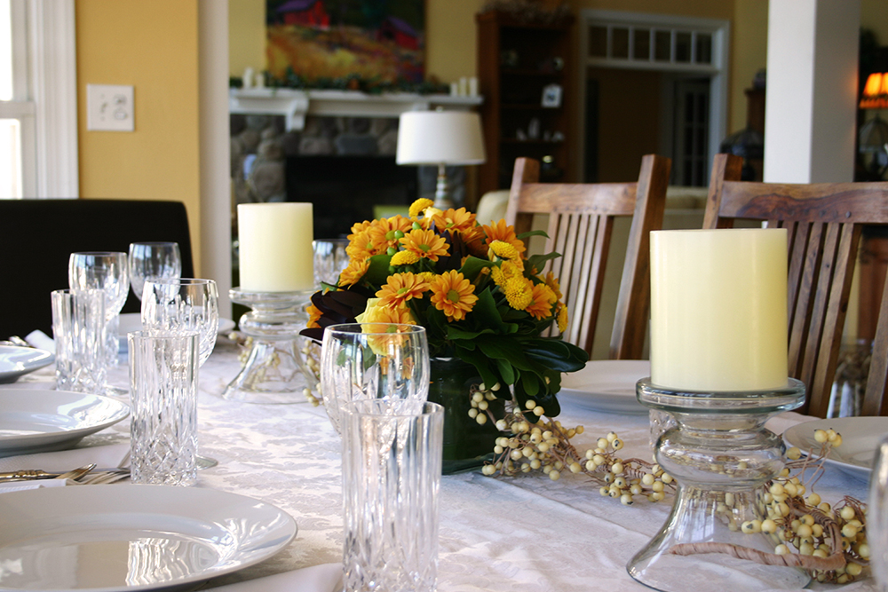 Thanksgiving 2011 table