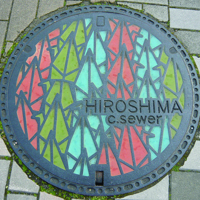 Japanese Manhole Covers    A gorgeous Flickr set of manhole covers in japan