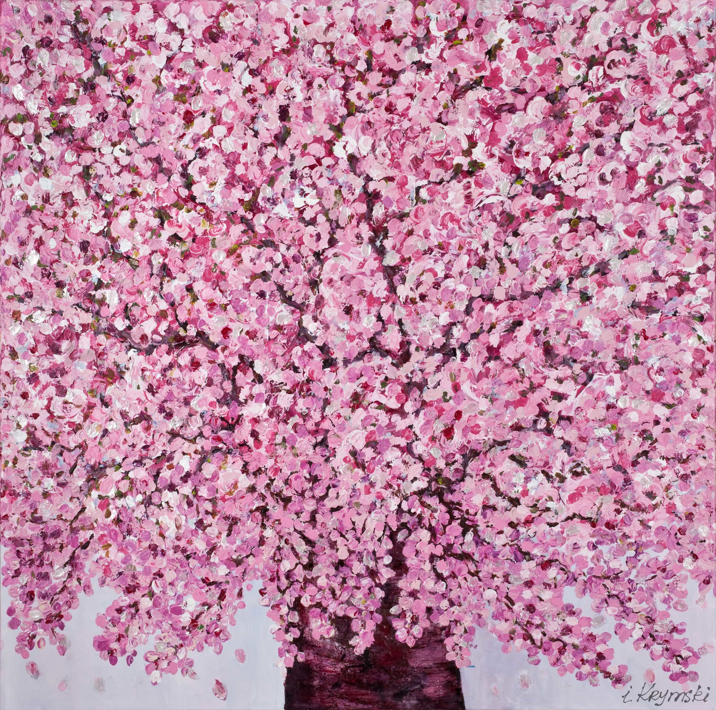"'The Tree Of Love"". Oil , Acrylic on Canvas. 100 x 100cm"