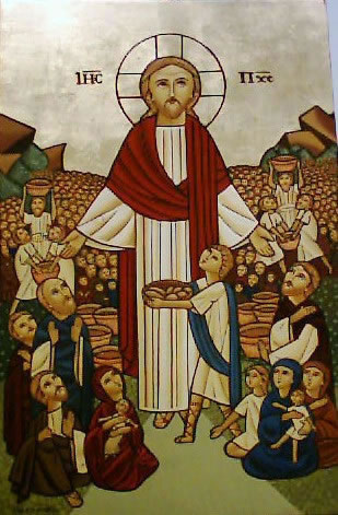 """Jesus spoke to Peter and to each of us, """"Feed my sheep."""""""