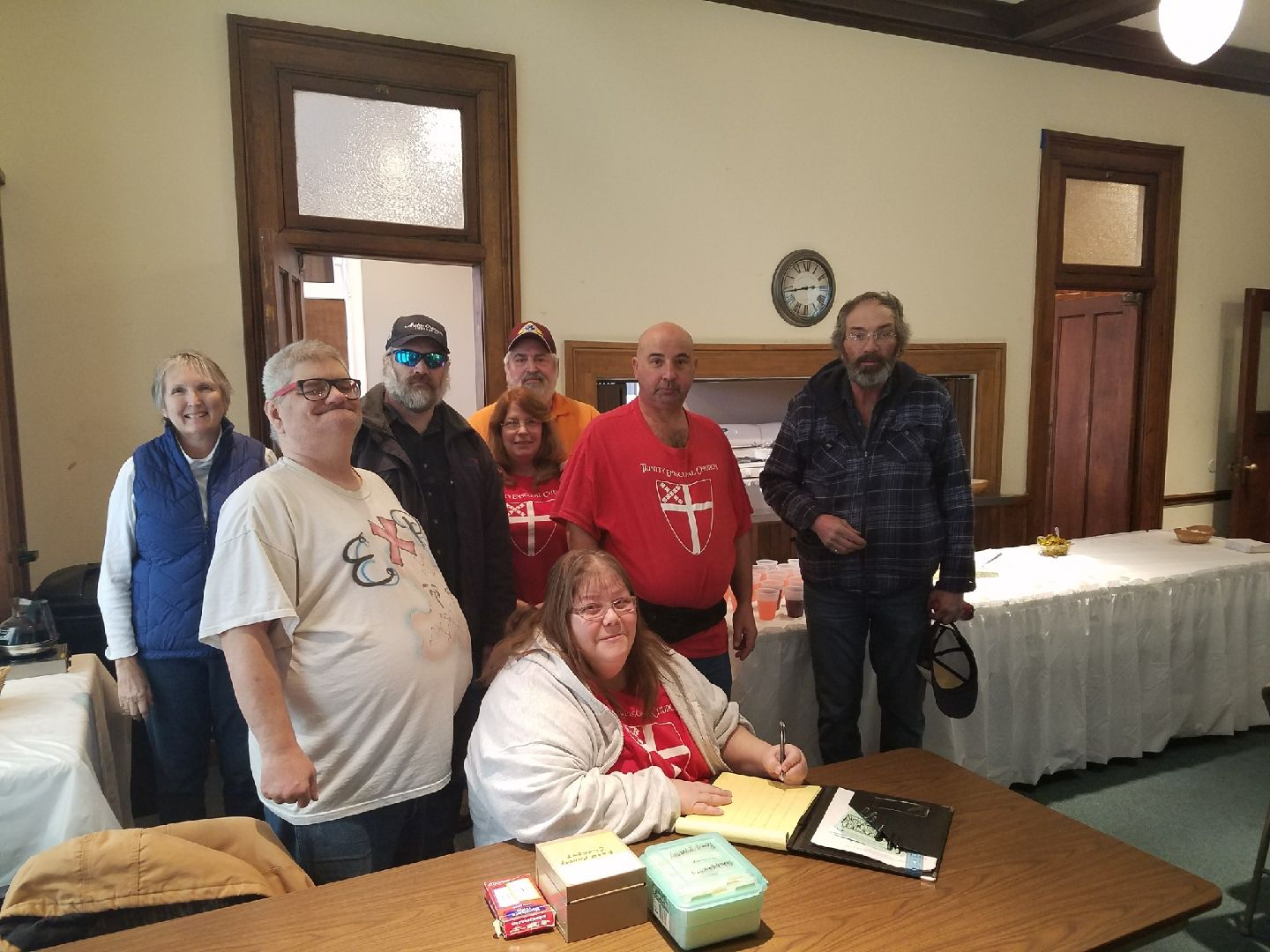 Team of volunteers: Food Pantry Distribution at Trinity Episcopal Church Logansport, Indiana