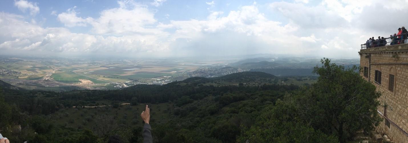 View from Mount Carmel (Julien Smith)