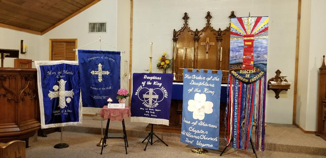 Daughters of the King banners