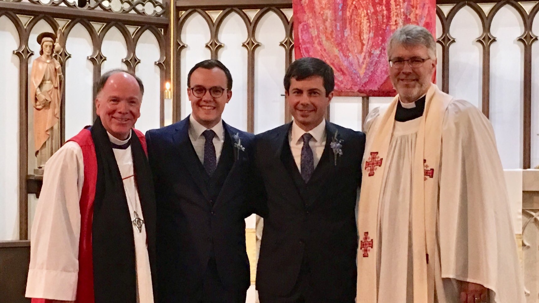 Diocesan Blog: Praying for Pete and Chasten Buttigieg