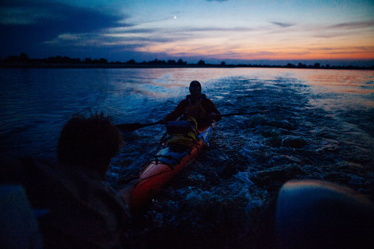 evening kayak