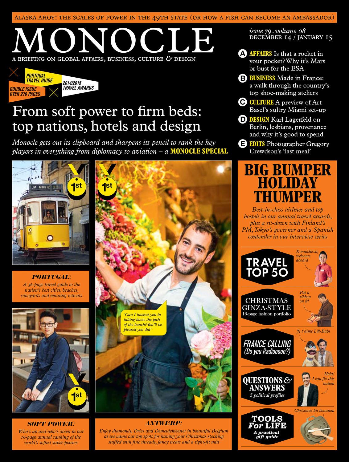 Monocle magazine front cover