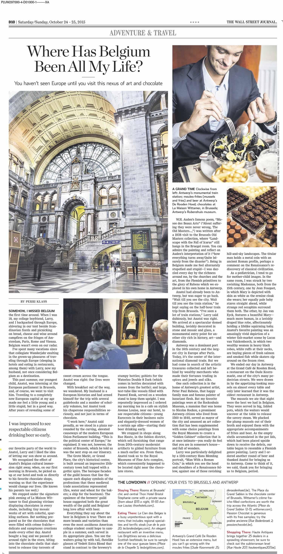 Wall Street Journal Brussels