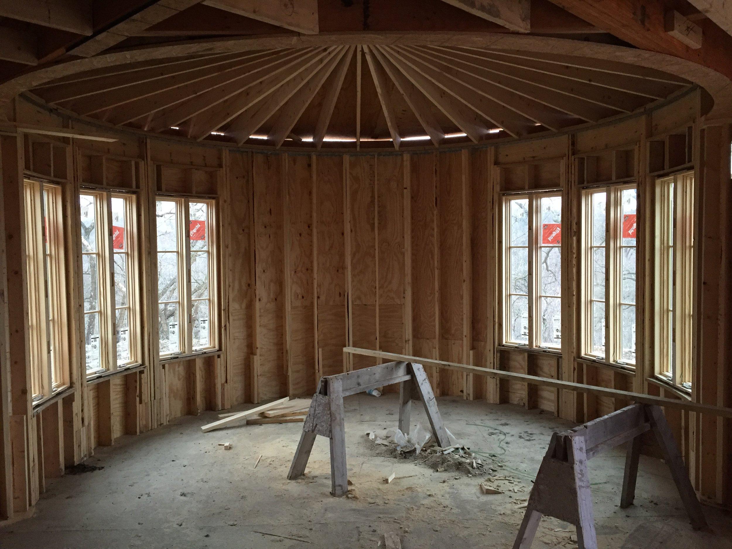 Stone Rise Circular Living Room
