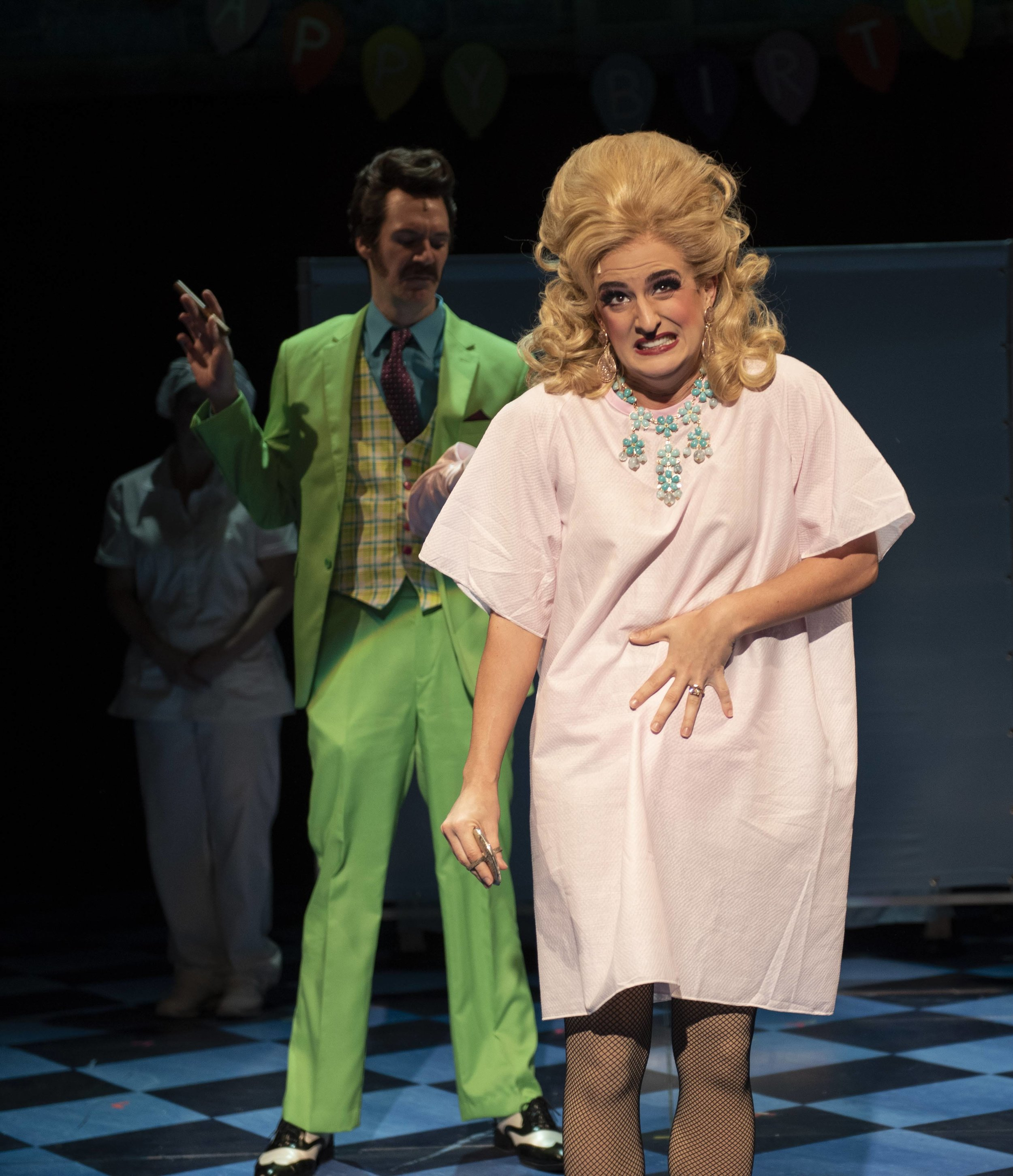Matilda, Lisa Karlin as Mrs WormwoodMatilda, Lisa Karlin as Mrs. Wormwood