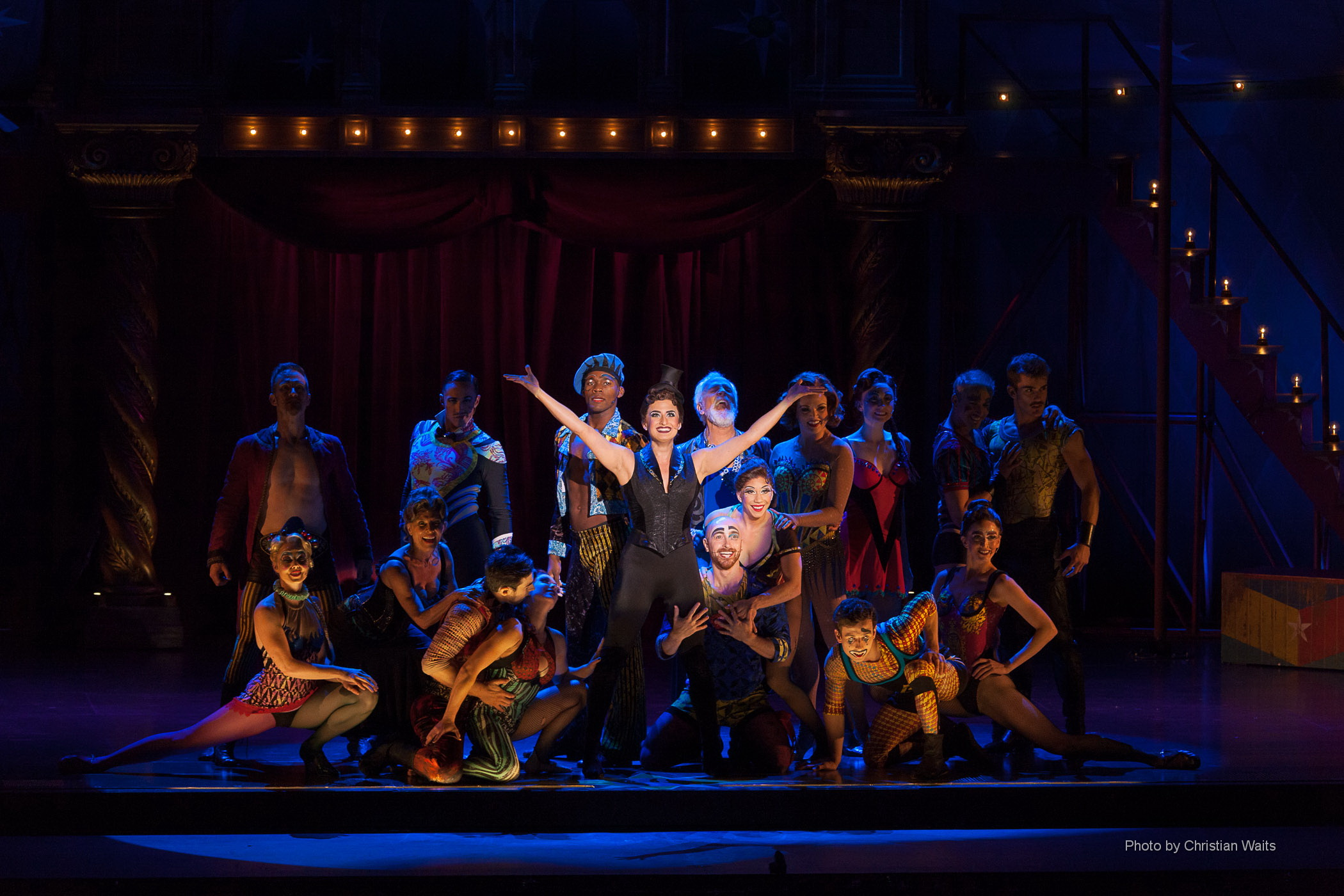 First National Tour Pippin, Lisa Karlin as Leading Player