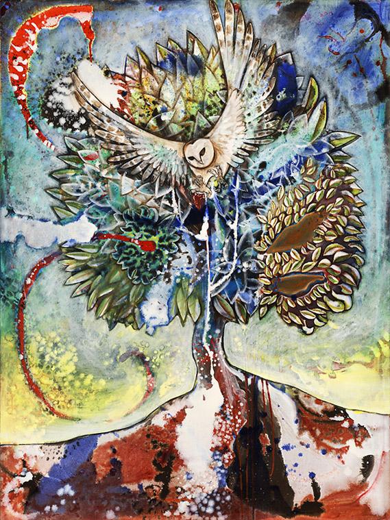 Treelife, 2010, Oil on canvas