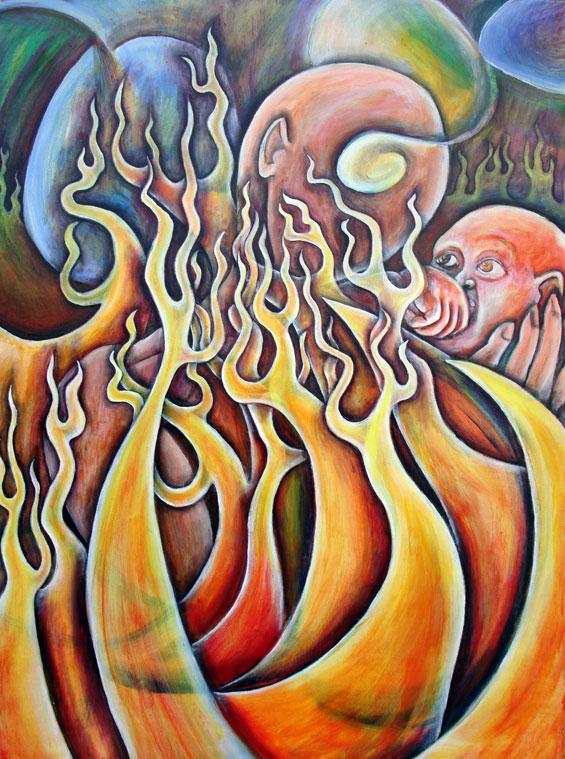 Hero, 2006, Oil on canvas