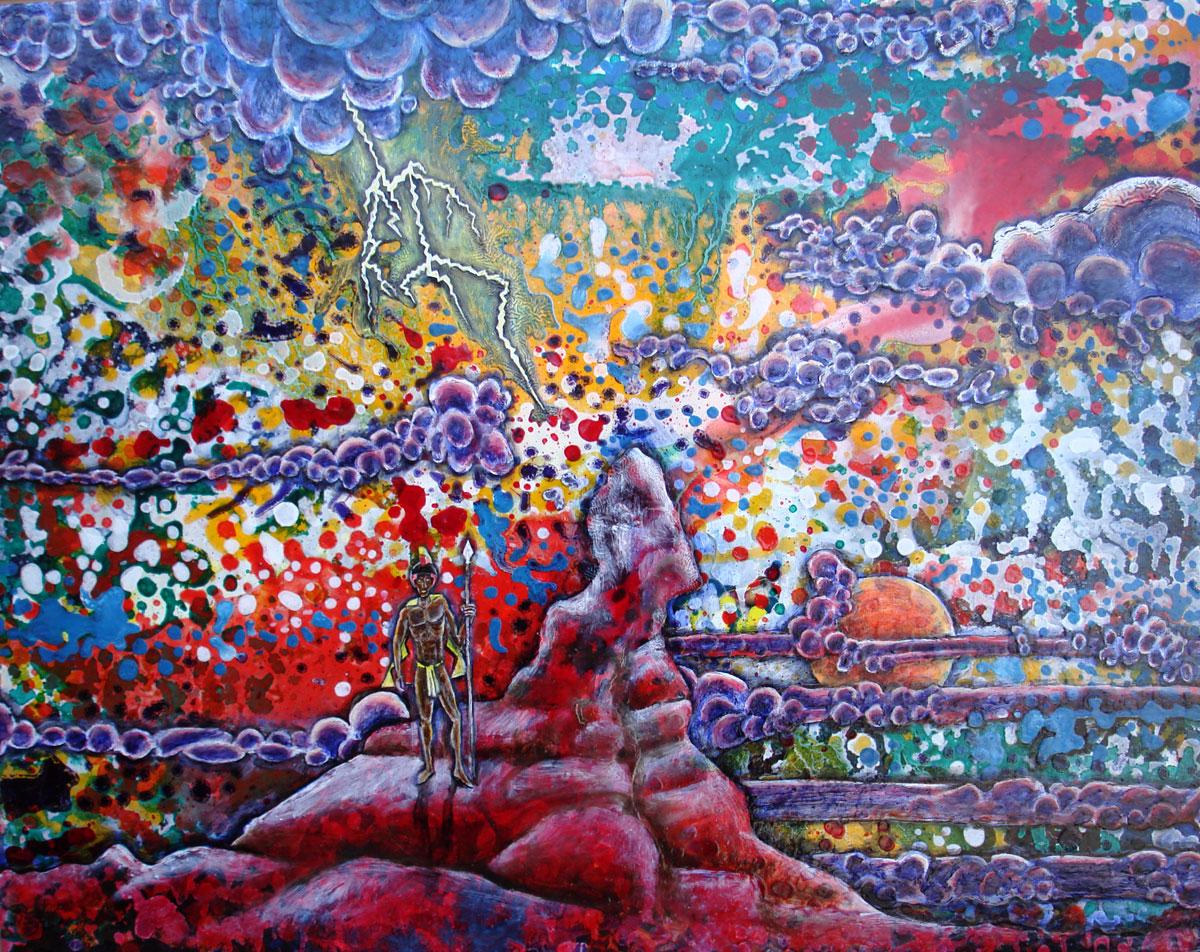 Kamehmeha, 2009, Oil on canvas