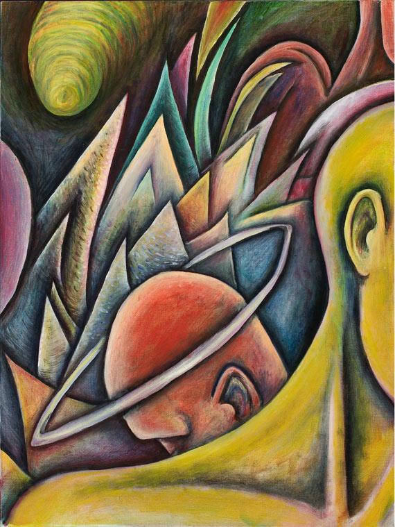 """""""The Martyr"""", Oil on canvas, 18"""" X 24"""" , 2001"""
