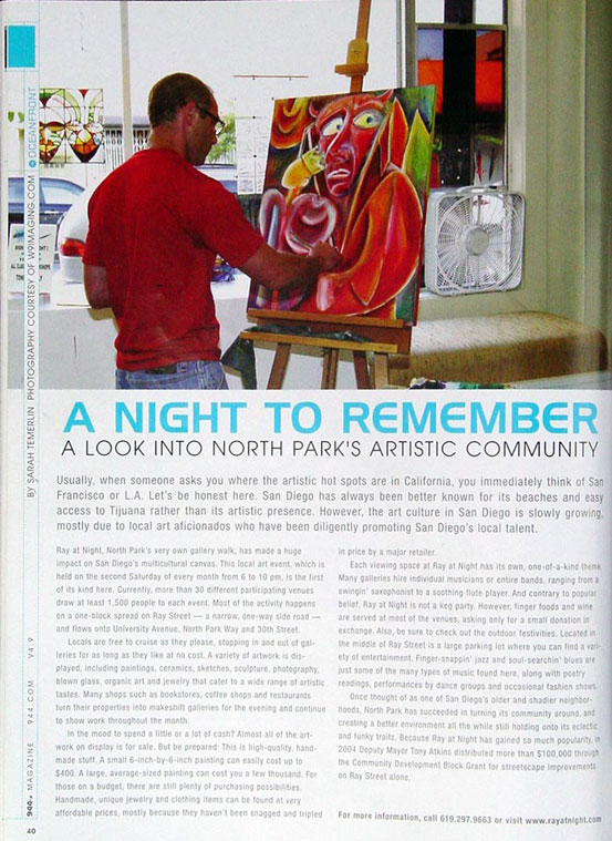 """944 Magazine, Sept. 2005, """"A Night to Remember"""""""