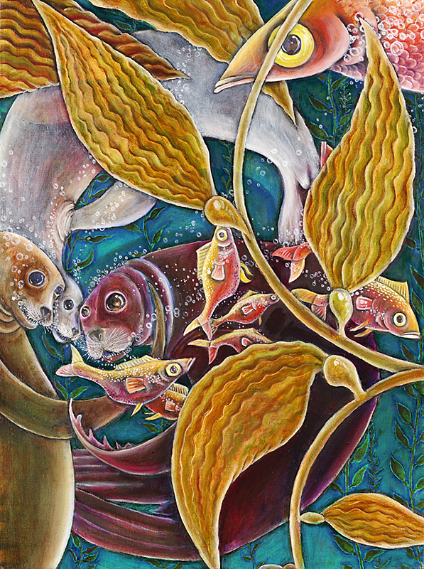 Predator and Prey (The Dance) #2, 2009, Oil on canvas