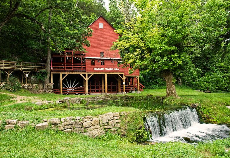 Visit Hodgson Mill in Ozark County, Missouri.