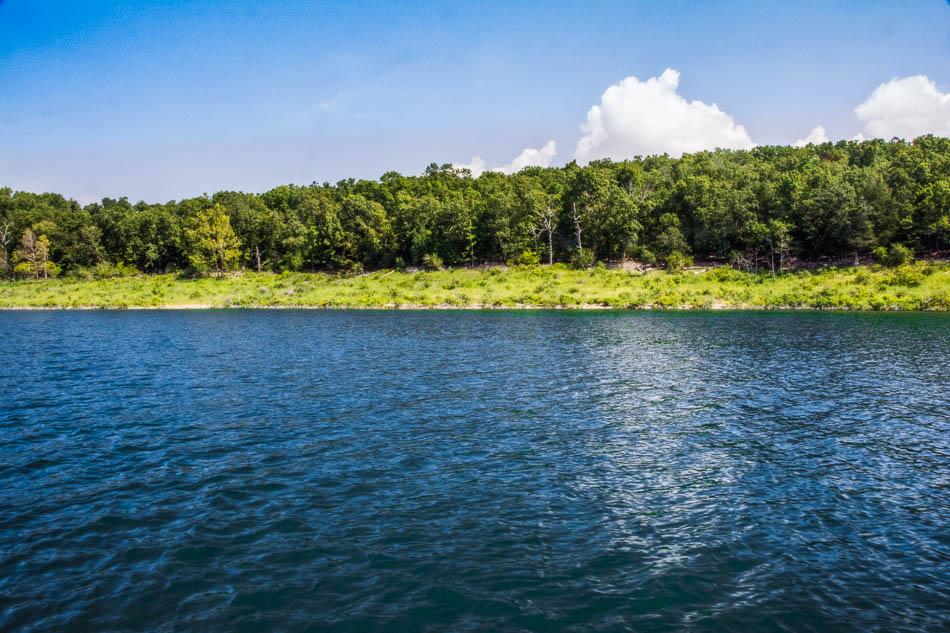 Bull Shoals Lake land near Theodosia Missouri