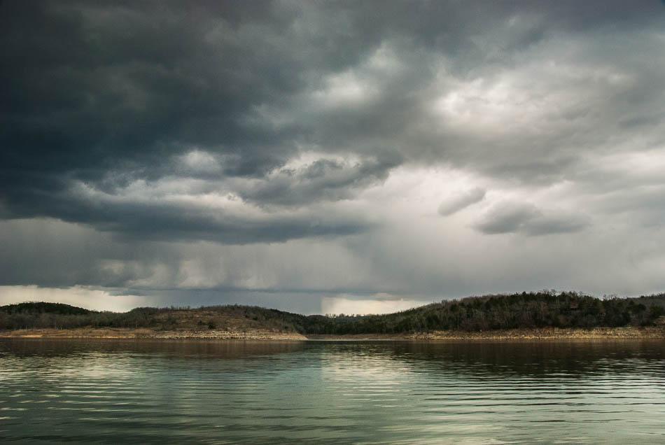 Storm Brewing at Bull Shoals Lake