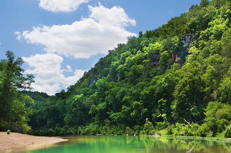 Float the streams of Ozark County, Missouri.