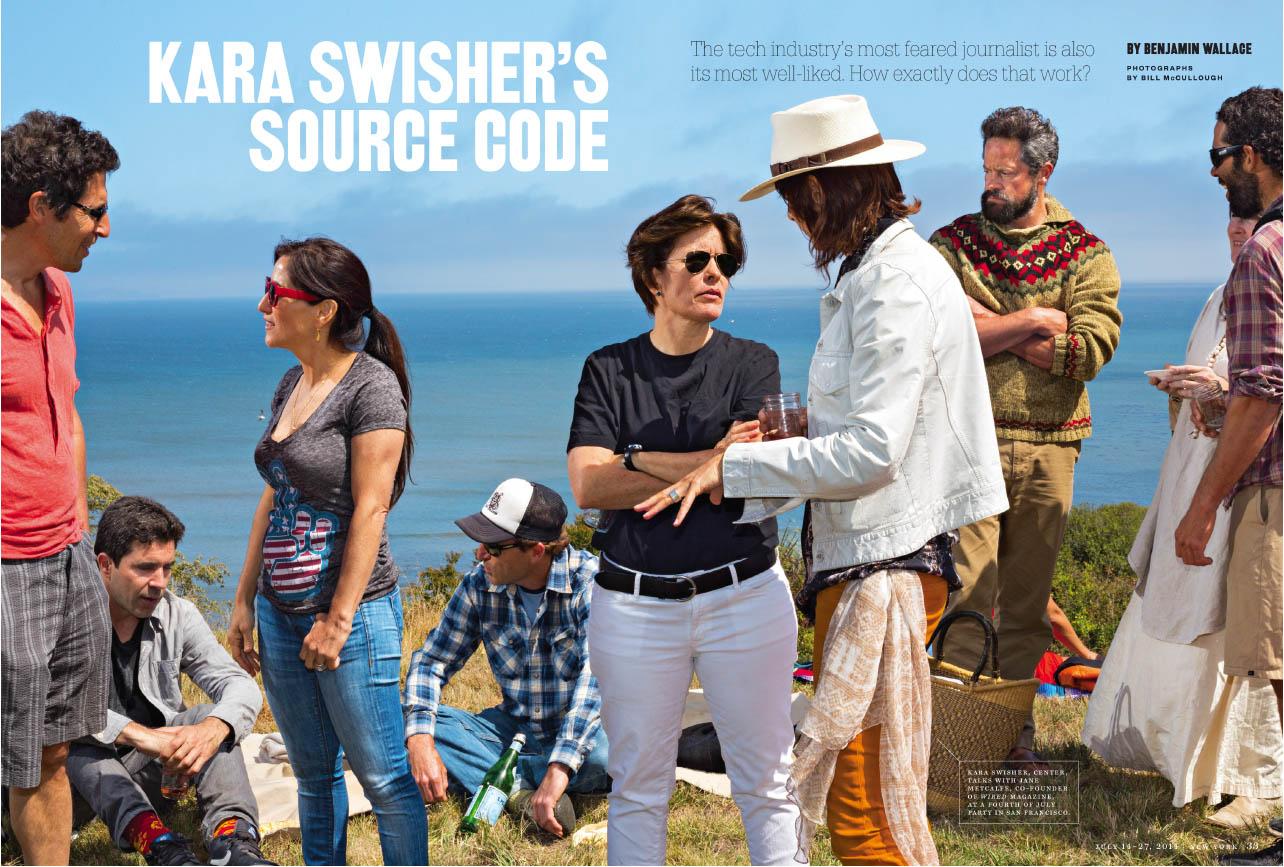 Kara Swisher's Source Code New York Magazine