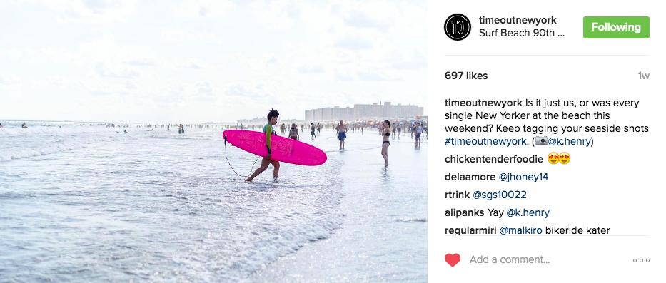 Image in both Instagram & TONY Magazine