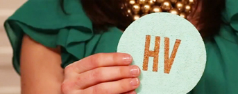 DIY Monogrammed Coasters   The Nest