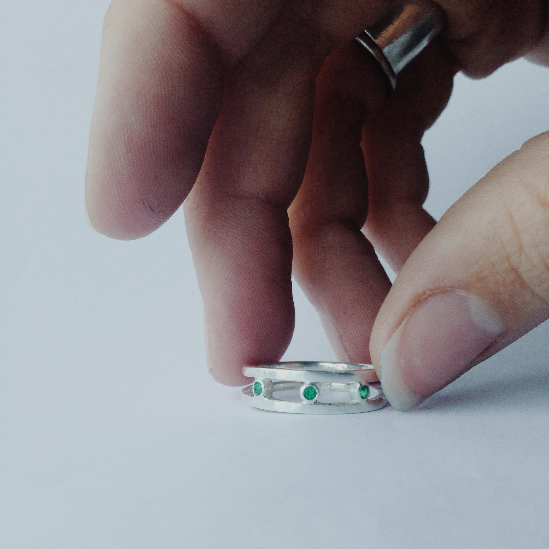 triple-emerald-ring-handmade-jewelry-austin-tx.JPG