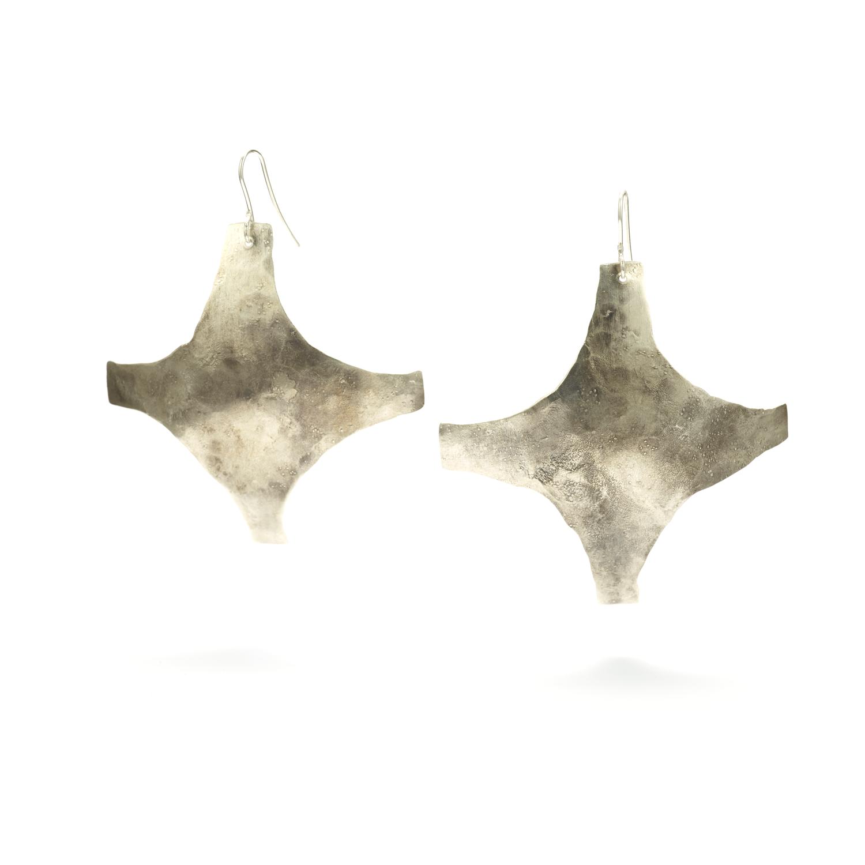 Minimalist Cross Earrings
