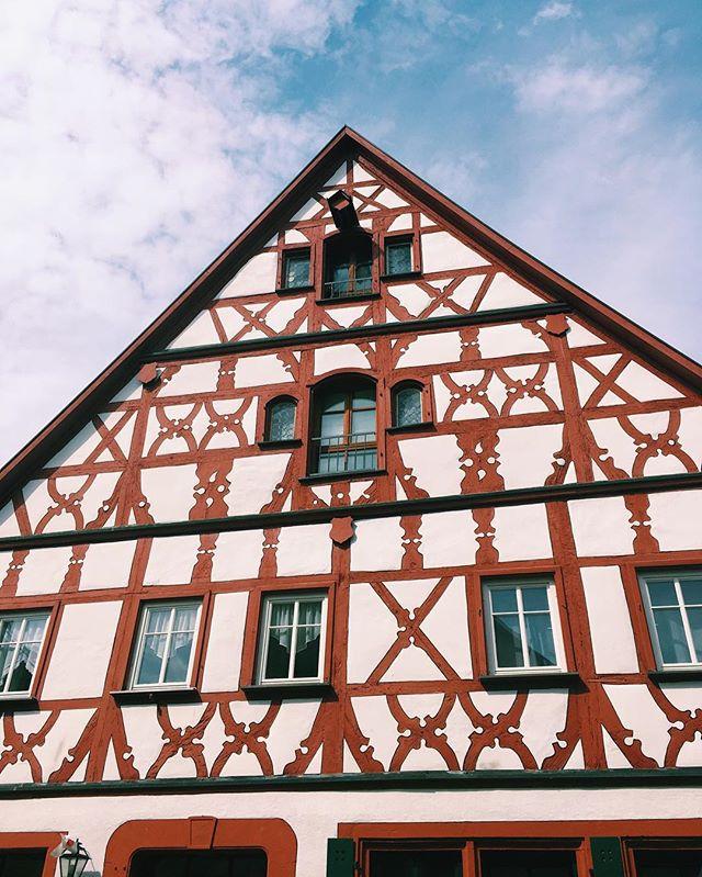 Love this style ➿ #rothenburg #fachwerk #fachwerkhaus
