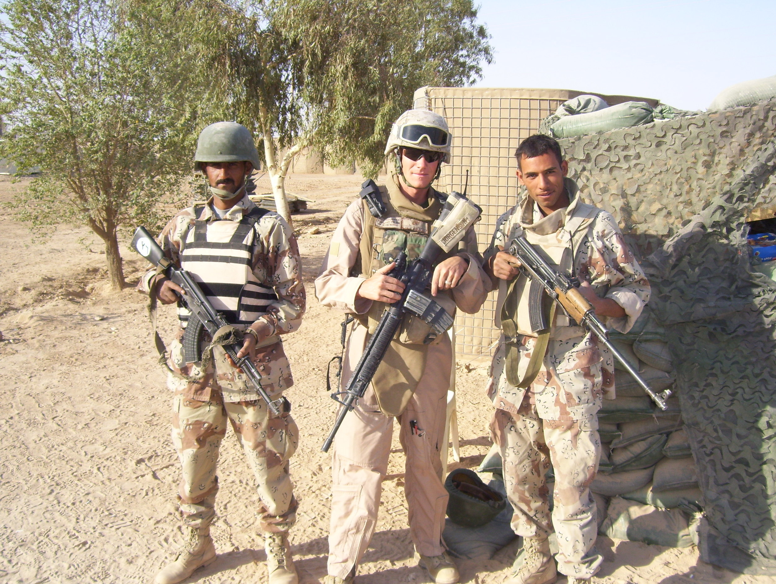 Iraq 2007 / Iraqi army